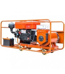 5кВт электростанция  переменного тока 220В с дизельным двигателем